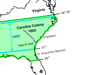 Province of Carolina -- Carolina Colony